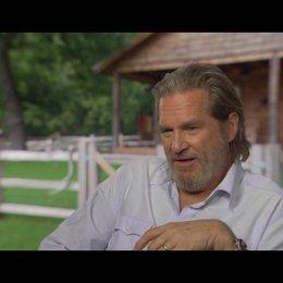 Jeff Bridges (Rooster Cogburn) über seine Rolle - OV-Interview Poster