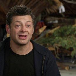 Andy Serkis - Ceasar - darüber, wie die Affen die Menschen entdecken - OV-Interview