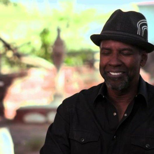 Denzel Washington über Paula Patton - OV-Interview