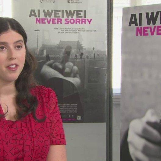 Alison Klayman (Regie) über Ai WeiWei - OV-Interview Poster