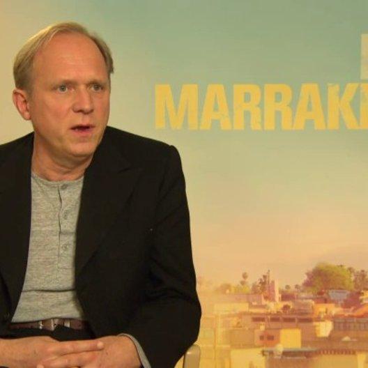 Ulrich Tukur - Heinrich - über die Geschichte EXIT MARRAKECH - Interview