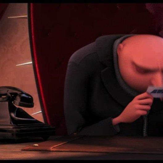 Gru probt seinen Anruf bei Lucy um sie nach einem Date zu fragen - Szene Poster