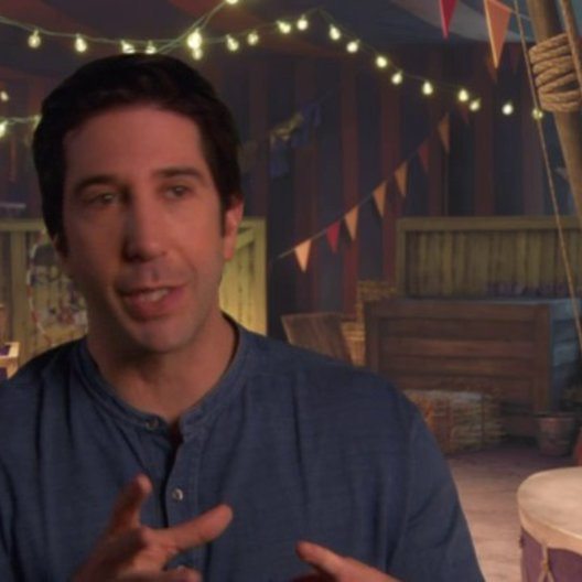 David Schwimmer - Melman - über die Geschichte - OV-Interview