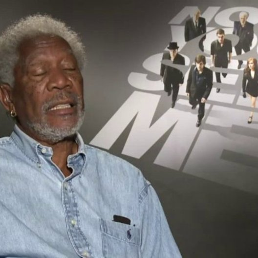 Morgan Freeman - Thaddeus Bradley - über die Verbindung seiner Rolle zu den The Four Horseman - OV-Interview Poster