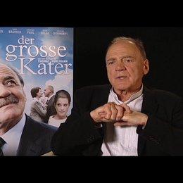 Bruno Ganz / Kater - ueber sein Interesse an der Figur - Interview