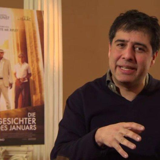 Hossein Amini - Regisseur - über seine Faszination für die drei Hauptcharaktere - OV-Interview Poster