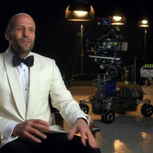 Jason Statham über seine Erfahrung beim Drehen des Films - OV-Interview Poster