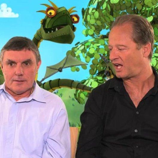 Tom Gerhardt und Detlev Redinger darüber wie man einen Drachen spricht - Interview Poster