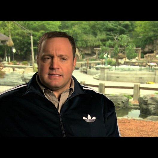 Kevin James über Griffins Job als Zoowärter - OV-Interview Poster