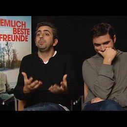 Eric Toledano und Olivier Nacache (Regisseur) über den Erfolg französischer Filme in denen es um die Unterschiede - OV-Interview