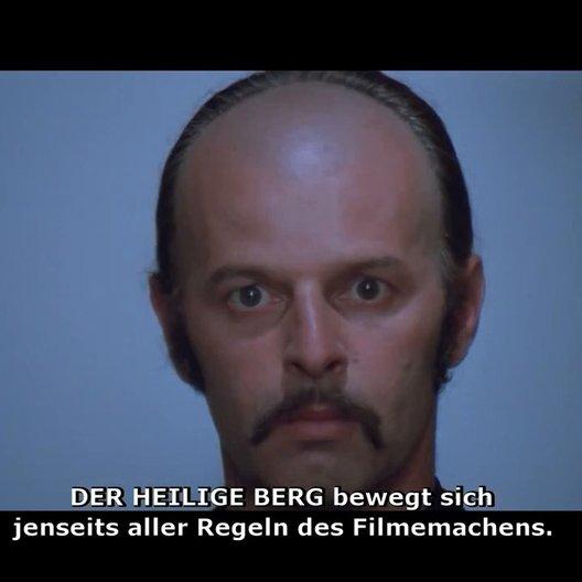 Der Heilige Berg (DVD-Trailer) Poster