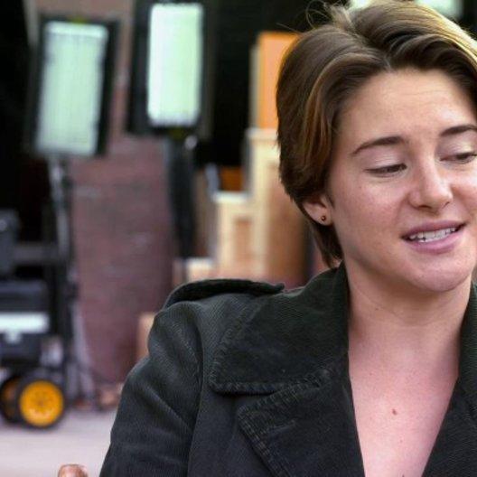 Shailene Woodley - Hazel - darüber, was diese Liebesgeschichte von anderen unterscheidet - OV-Interview Poster
