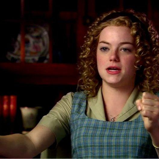 EMMA STONE (Skeeter Phelan) über OCTAVIA SPENCER und ihre Rolle als Minny - OV-Interview