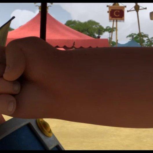 Asterix im Land der Götter - Trailer Poster