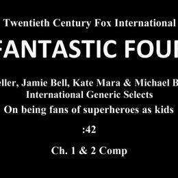 Teller, Bell, Mara, Jordan - On Being Fans Of Superheroes As Kids - OV-Interview Poster