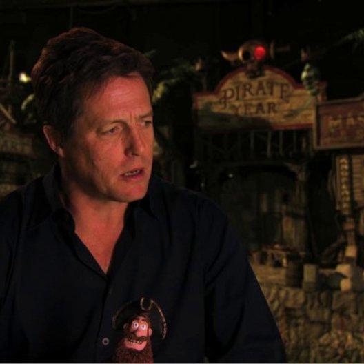 Hugh Grant über die Sprachaufnahmen im Synchronstudio Teil 2 - OV-Interview