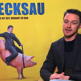 James McAvoy über die Gründe für das Verhalten von Bruce - OV-Interview Poster