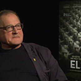 Burghart Klaussner (Arthur Nebe) ob ihm die Thematik bekannt war  über seine Annäherung an das Thema, über Georg Elser, darüber, warum gerade Elser he