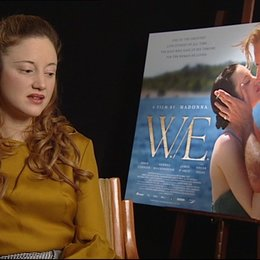 Andrea Riseborough -Wallis Simpson- über den Film WE - OV-Interview Poster