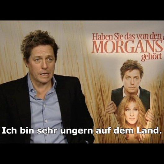 Hugh Grant über den Film - Interview Poster