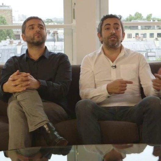 Olivier Nakache & Eric Toledano - Regisseure - über den fortlaufenden Vergleich mit Ziemlich beste Freunde - OV-Interview