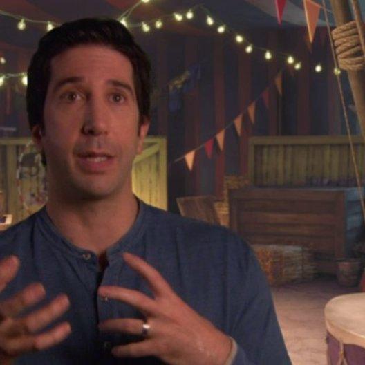 David Schwimmer - Melman - über Gloria und Melman - OV-Interview