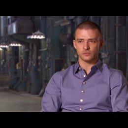 Justin Timberlake (Will Salas) über den Wert von Zeit - OV-Interview Poster