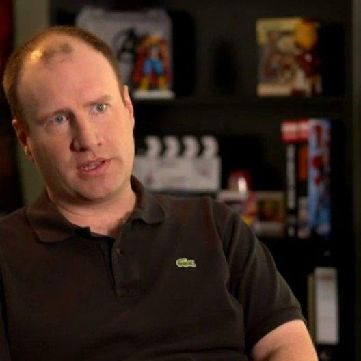 Kevin Feige - Produzent - über die Geschichte des Films - OV-Interview