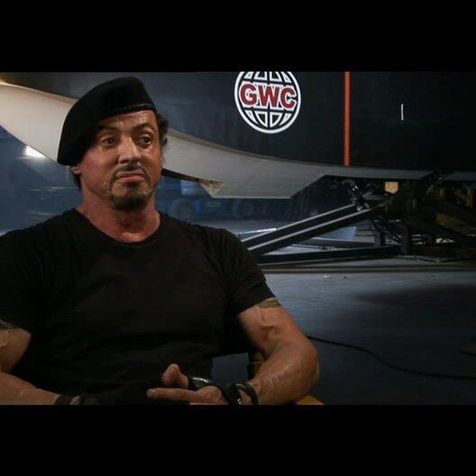 Sylvester Stallone über die Schauspieler - Teil 1 - OV-Interview Poster