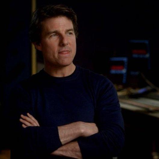 Tom Cruise (Ethan Hunt) über den Flugzeug Stunt - OV-Interview