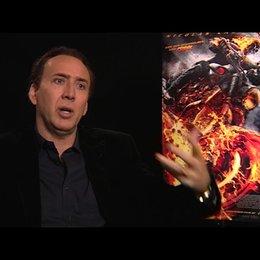 Nicolas Cage über seine Vorbereitungen auf die Rolle - OV-Interview Poster
