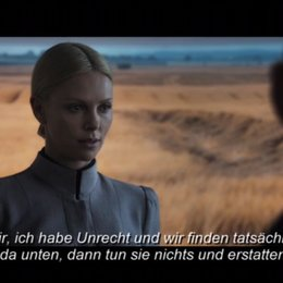 Charlize Theron on Vickers - Featurette Poster