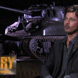 Brad Pitt über die Authentizität des Films - OV-Interview Poster