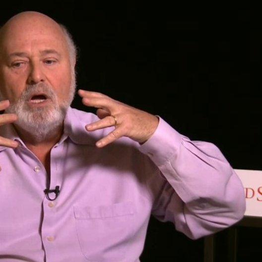 Rob Reiner - Regisseur - über Maenner in seinen Filmen - OV-Interview