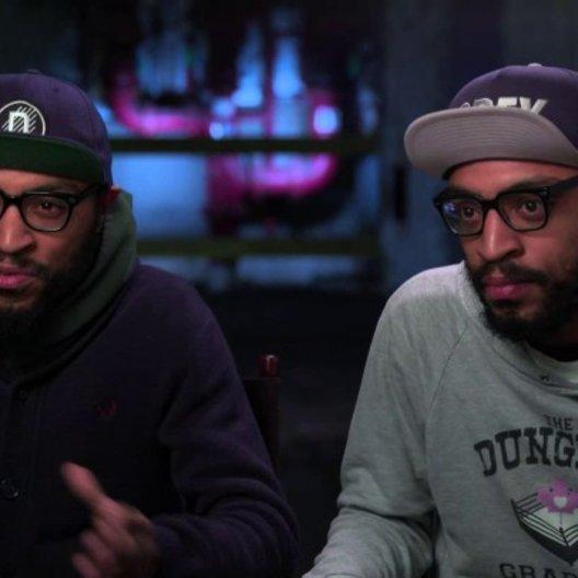 Kenny und Keith Luca über Action und Comedy in dem Film - OV-Interview