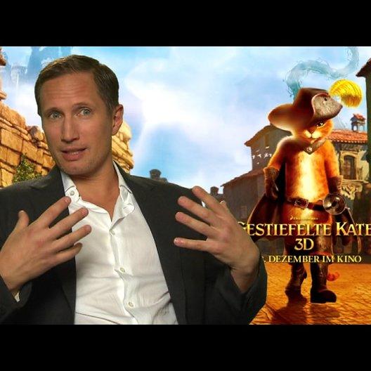 Benno Fürmann - deutsche Stimme DER GESTIEFELTE KATER - über seine Rolle DER GESTIEFELTE KATER - Interview