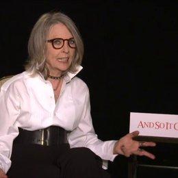 Diane Keaton - Leah - über Das grenzt an Liebe - OV-Interview Poster
