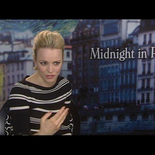 Rachel McAdams (Inez) über Woody Allen als Regisseur - OV-Interview Poster