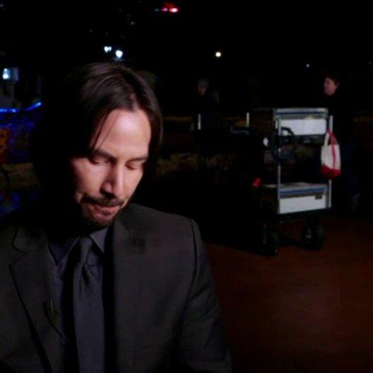 Keanu Reeves - John Wick - über seine Rolle - OV-Interview Poster