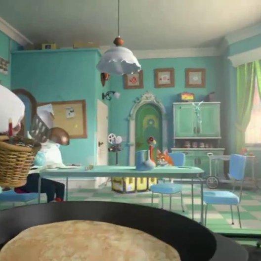 Das magische Frühstück - angesagt von Dieter Hallervorden - Szene