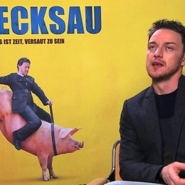 James McAvoy über die Zuschauerperspektive in Bezug auf Bruce - OV-Interview Poster