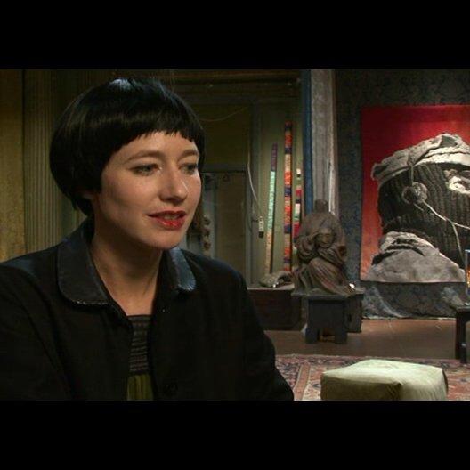Johanna Wokalek (Cecilia) - Interview