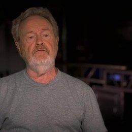 Ridley Scott darüber ein Set mit VFX zu erbauen - OV-Interview Poster