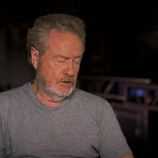 Ridley Scott über die Arbeit mit Ben Kingsley - OV-Interview