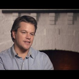 Matt Damon (La Boeuf) über Mattie Ross - OV-Interview Poster