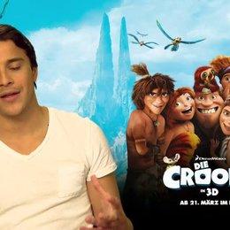 Kostja Ullmann (Guy) darüber dass die Croods ein Familienfilm ist - Interview