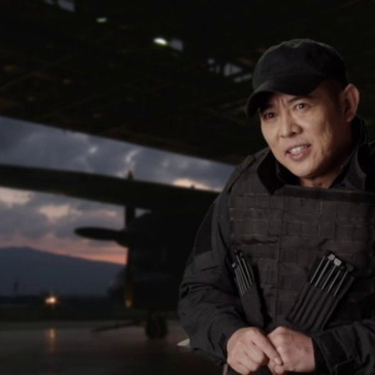 Jet Li - Yang - über Sylvester Stalone - OV-Interview Poster