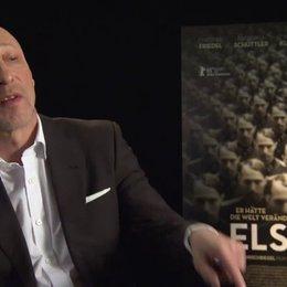Oliver Hirschbiegel (Regie) darüber, was ihn dazu bewogen hat, einen Film über Elser zu machen, über den Menschen Elser - Interview