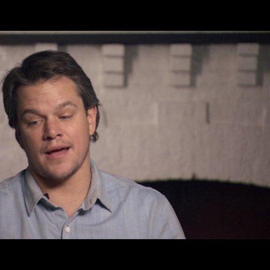 Matt Damon (La Boeuf) über die Stärken des Films - OV-Interview Poster
