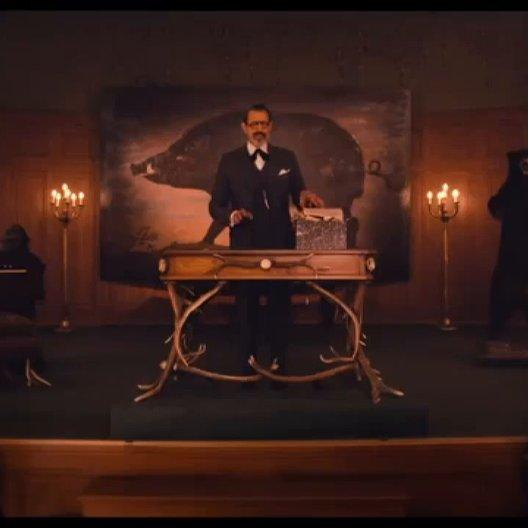 Grand Budapest Hotel - OV-Trailer Poster